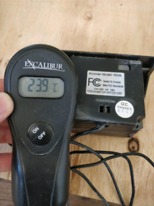 Fireplace remote - Excalibur