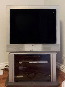Sony Box TV and Stand
