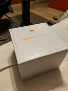 Huawei Watch 2 Black Sport Edition. Brand New Sealed in box