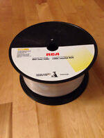 New spool of RG6 coaxial cable, 500ft