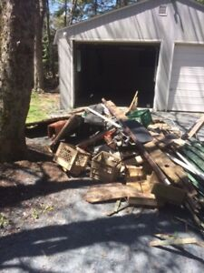 Local JUNK REMOVAL & DEMO(SHEDS/FENCES/DECKS )free ESTIMATES!