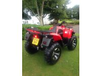 Apache rlx 420 4x4 landowner quad road legal 2010 swap or sell???