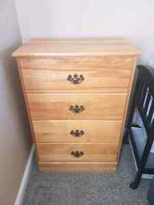 Solid Maple antique dresser