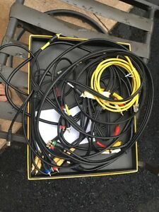 Various AV cables etc.