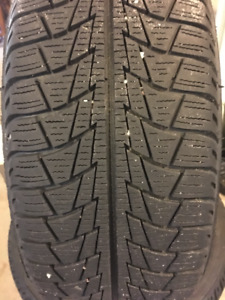 """Set of 4 16"""" winter tires on rims"""