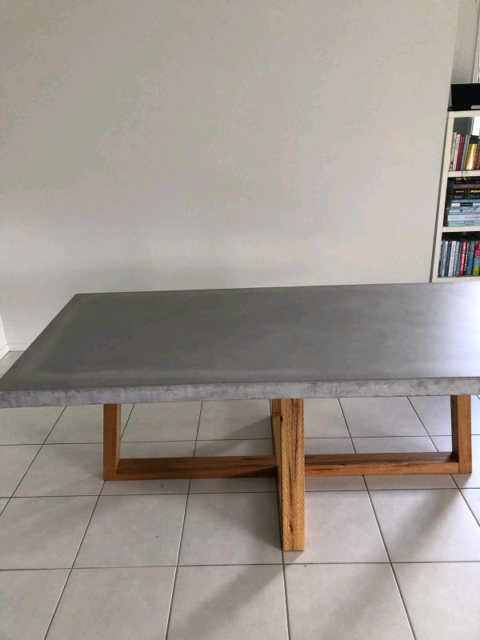 Lightweight Concrete Dining Table