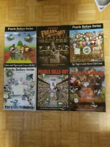 Six Pearls Before Swine comic collection books