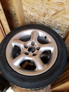 205 / 50 / 15 tires and rims