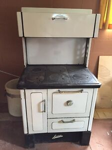 Antique wood burning cook stove ACME