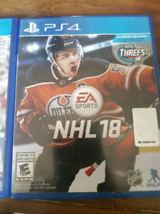 Nhl 18 and madden 17 ps4.Forza 6 and star wars for xbox one