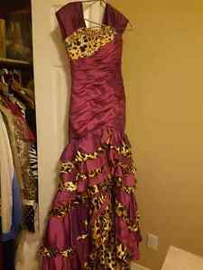 Tony bowls high low dress