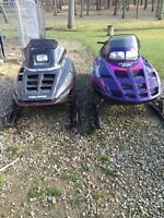 Snowmobile's for sale or trade