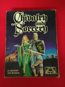 Vintage Chivalry and Sorcery 2nd Edition Role Playing Game 1983