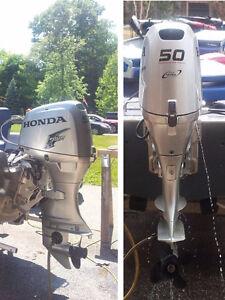 2014 Honda BF50 - Orig Owner - Warranty (Optional 16 ft boat)