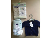 GORGEOUS BABY BOY'S CLOTHING & TOWEL - MUST GO ASAP!