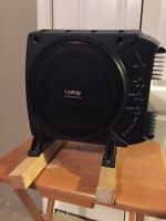 "10"" infinity sub and amp"