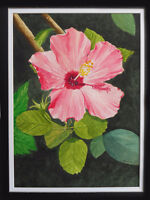 Watercolour Painting class -  HIBISCUS