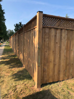 Deck, Fence, Fence Repair and Post Holes