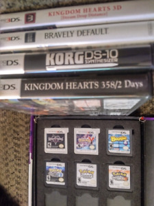 3DS and DS games. Prices in ad.