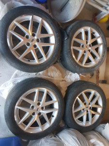 Ford Fusion factory OEM 17 inch rims w/ TPMS excellent condition