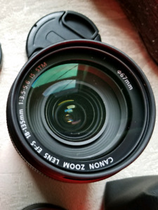 Canon ef-s 18-135mm IS stm Very clean..