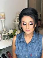Professional bridal/Party makeup and hair artist from $45