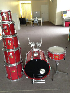 Tama Artstar II - 7 piece Shell Kit + cases West Island Greater Montréal image 1