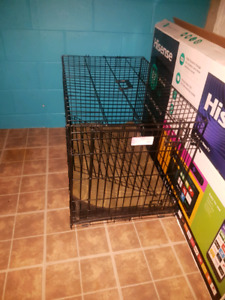 large dog kennel, good condition