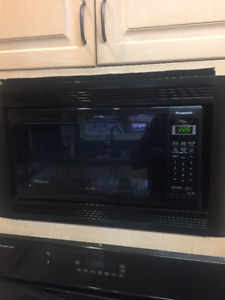 Panasonic Microwave (1.6 Cu.ft.) - 3months old only