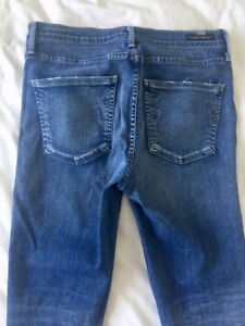 Citizens of Humanity Rocket Crop High Rise Skinny Jeans 29