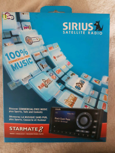 Sirius Starmate 8 with in home radio hookup
