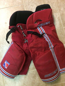 Kitchener Jr Ranger Hockey Pants - Mens Small and Junior XL