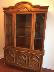 French Colonial looking Hutch 75 OBO need to be gone