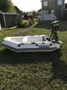 Seabright 7.5ft tender with 5hp outboard