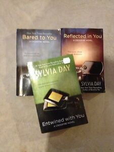SYLVIA DAY books- $20.00 for all 3
