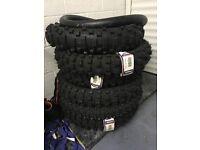 Mitas and Metzeler 6 days extreme Rear Front Enduro tyres 1408018 1209018 1109019 909021