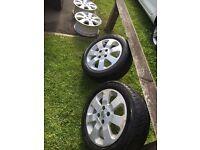 """Corsa c wheels 15"""" alloy"""