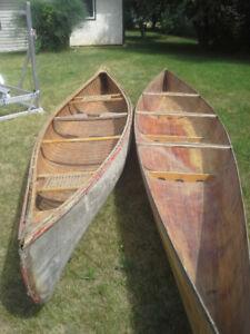 Two Cedar Canoes