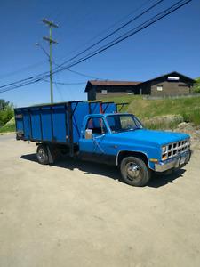 1981 gmc dump truck