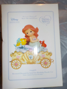 Precious Moments Disney Birthday Parade ARIEL # 4 FIGURINE
