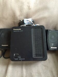 Bluetooth Panasonic wireless system sh-fx71