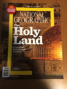 BNWOT National Geographic The Holy Land Special Issue
