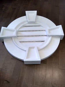 "30"" Functional Gable Vent with Keystone's - New"