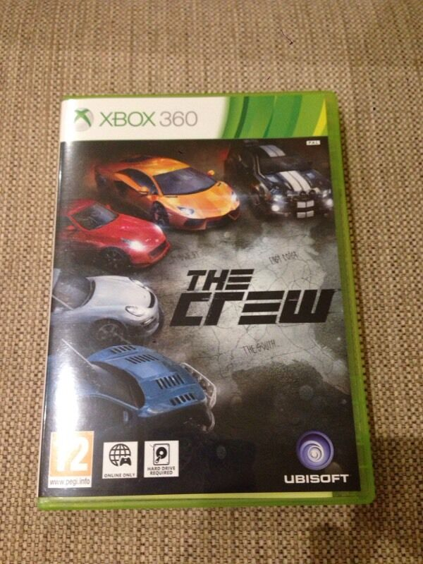 The Crew Xbox 360 racing game. Never been used.