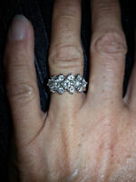 gorgeous diamond ring perfect for valentines day!