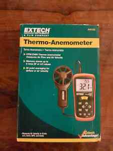 Extech  Thermo-Anemometer Air Flow/Air Velocity Meter  (AN100) Windsor Region Ontario image 1