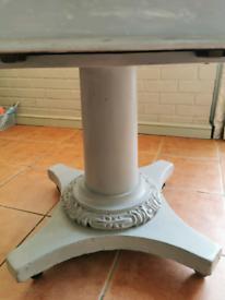 Round vintage victorian table