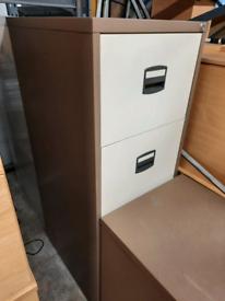 2 & 4 door metal filing cabinets - £10 each - NO KEYS