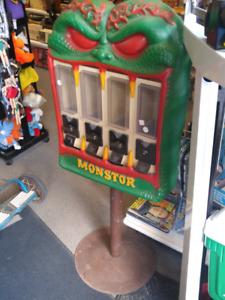 4 head monster gumball vending machine arcade pinball 250 OBO