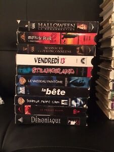 Lot de films vhs horreur/ disney / comedie 10cent chaq